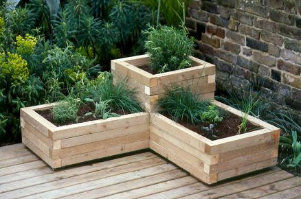 Planter box ideas made from pallets that look perfect with simple finishing Part 7