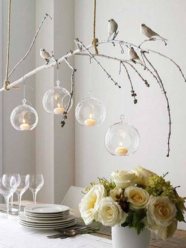 Simple Beautiful DIY Home Decor Ideas Out Off Tree Branches Part 29