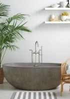 Small standing tubs powerful to make up small bathroom looks Part 17