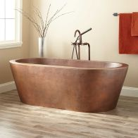 Small standing tubs powerful to make up small bathroom looks Part 19