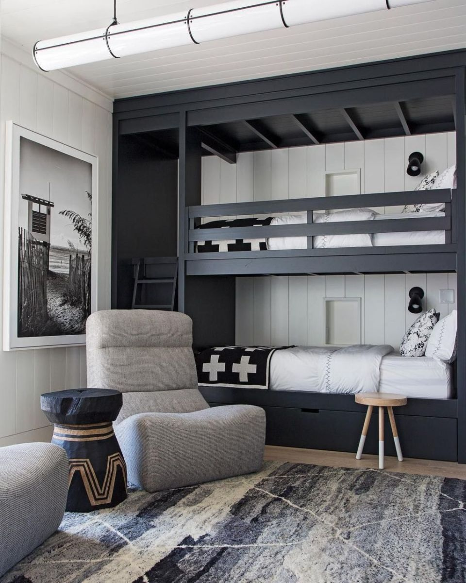 Wooden Storage Bunk Bed Frame Designs That Effective to give ashared space some efficient organizations Part 10