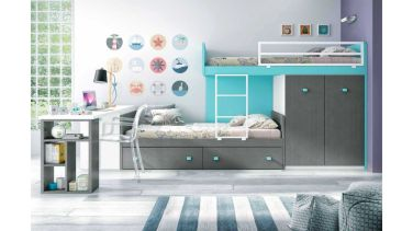Wooden Storage Bunk Bed Frame Designs That Effective to give ashared space some efficient organizations Part 16