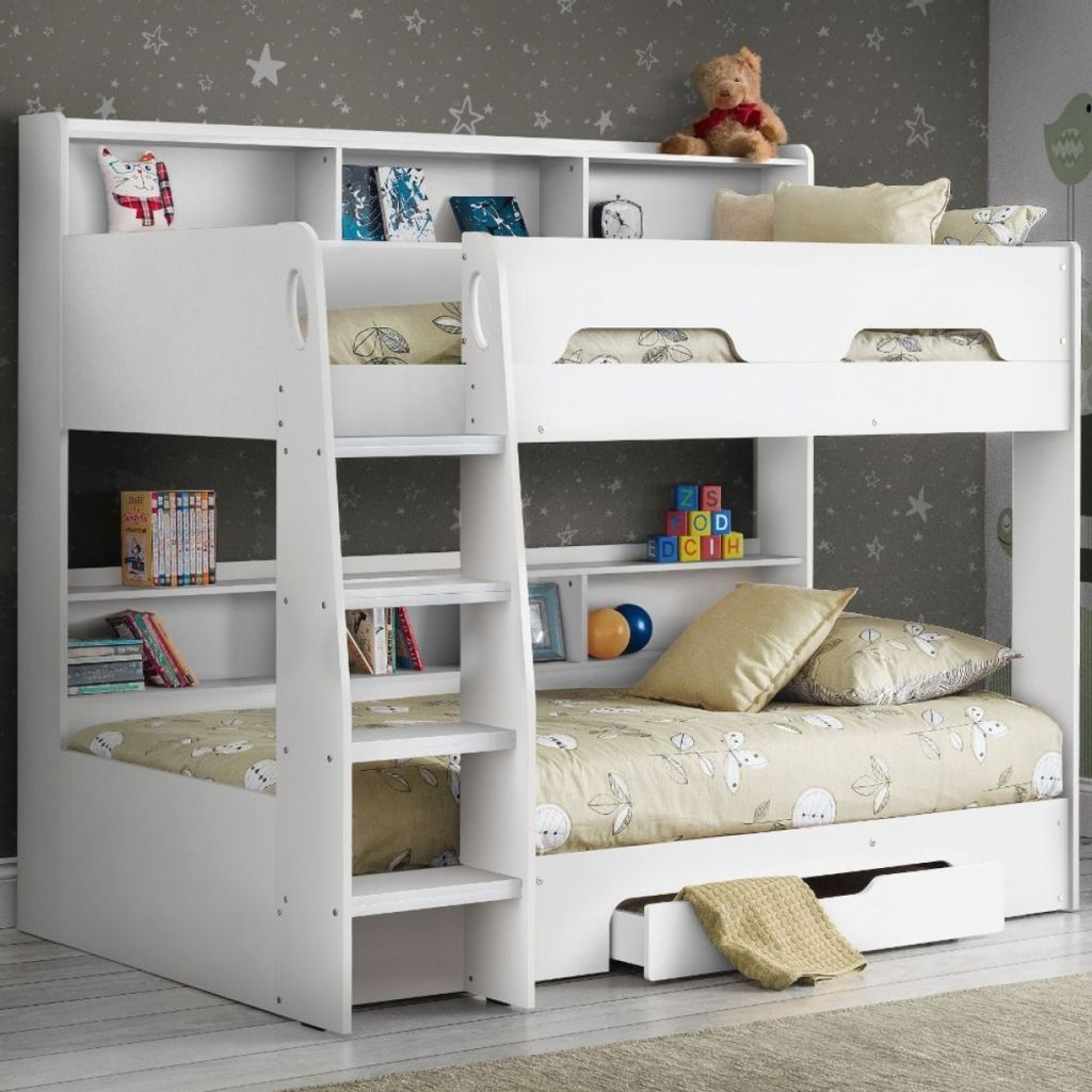 Wooden Storage Bunk Bed Frame Designs That Effective to give ashared space some efficient organizations Part 19