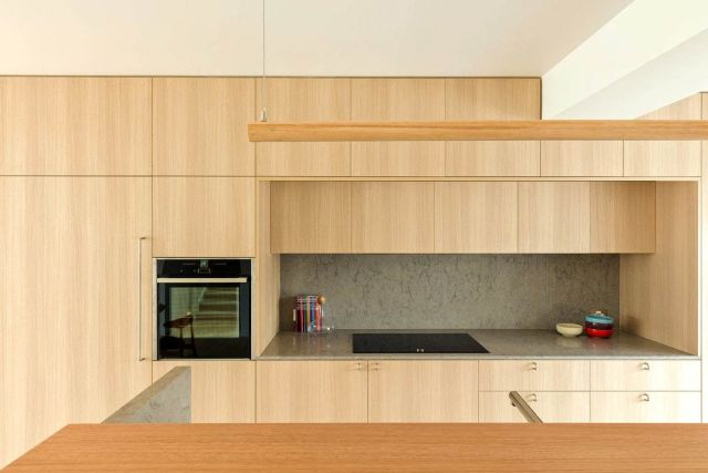 Amazing kitchen style that gives Rozelle Burrow project by Benn and Penna Designs a stylish home core pic 1