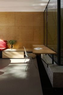 Modern house concept maximizing narrow area with brilliant spatial distribution strategy Moor House (1)