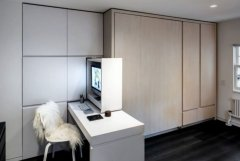 Small attic transformation project by MKCA converting small space into functional place for living (5)