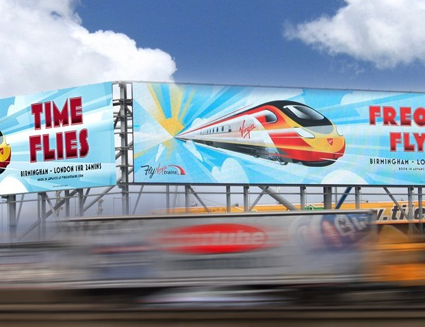 Europe's largest roadside Digital Screen lights up in Birmingham