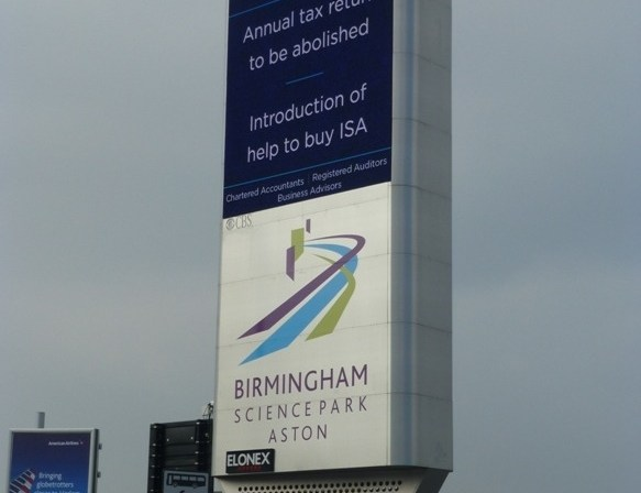 Budget 2015 Updates Broadcast Roadside During Birmingham Rush Hour