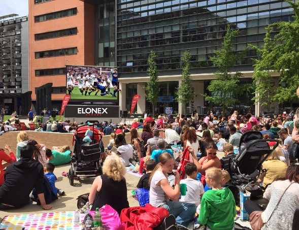 Birmingham Giant Screen Promises Big Hits for Advertisers at the Rugby World Cup