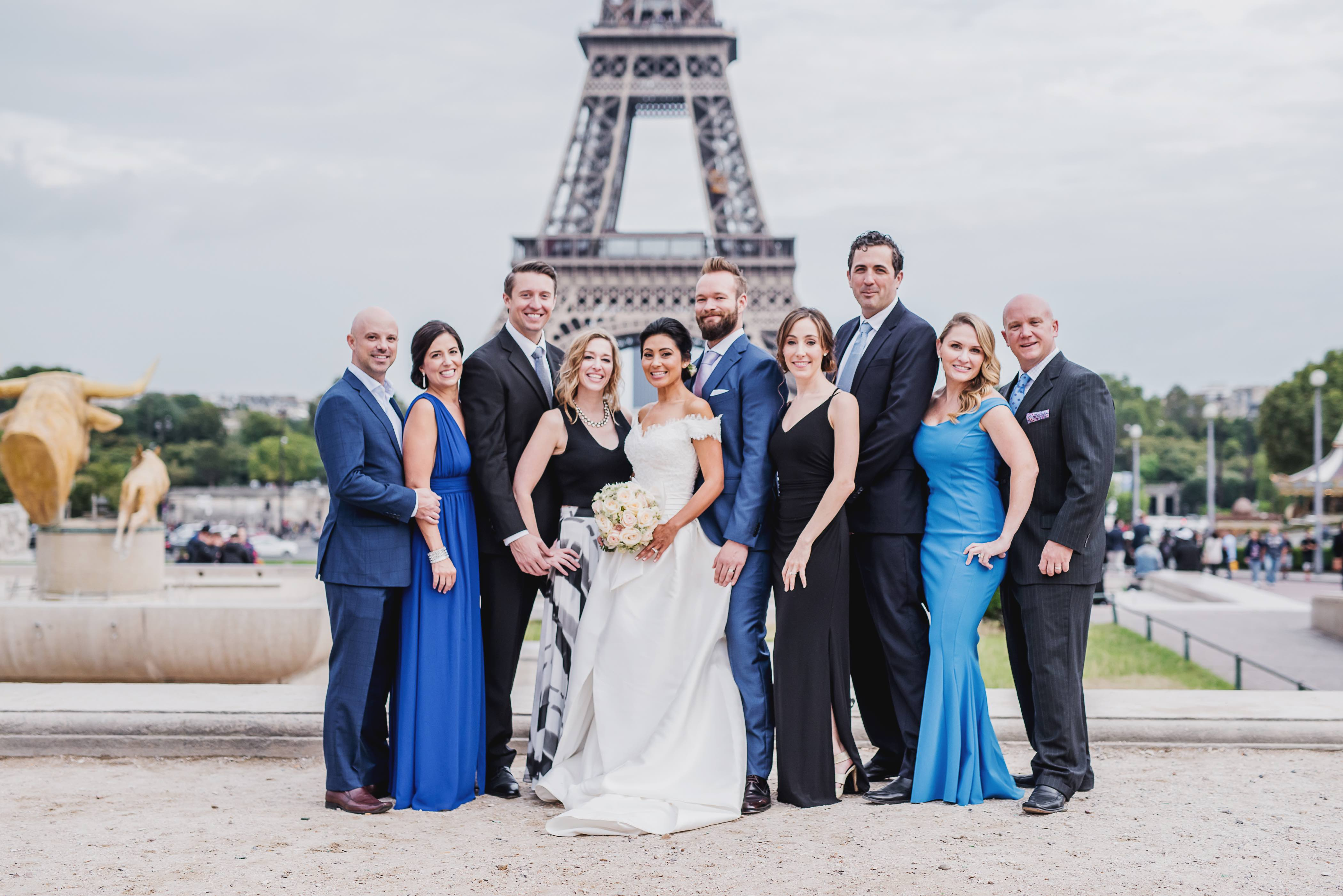 elope in paris small wedding by yanique