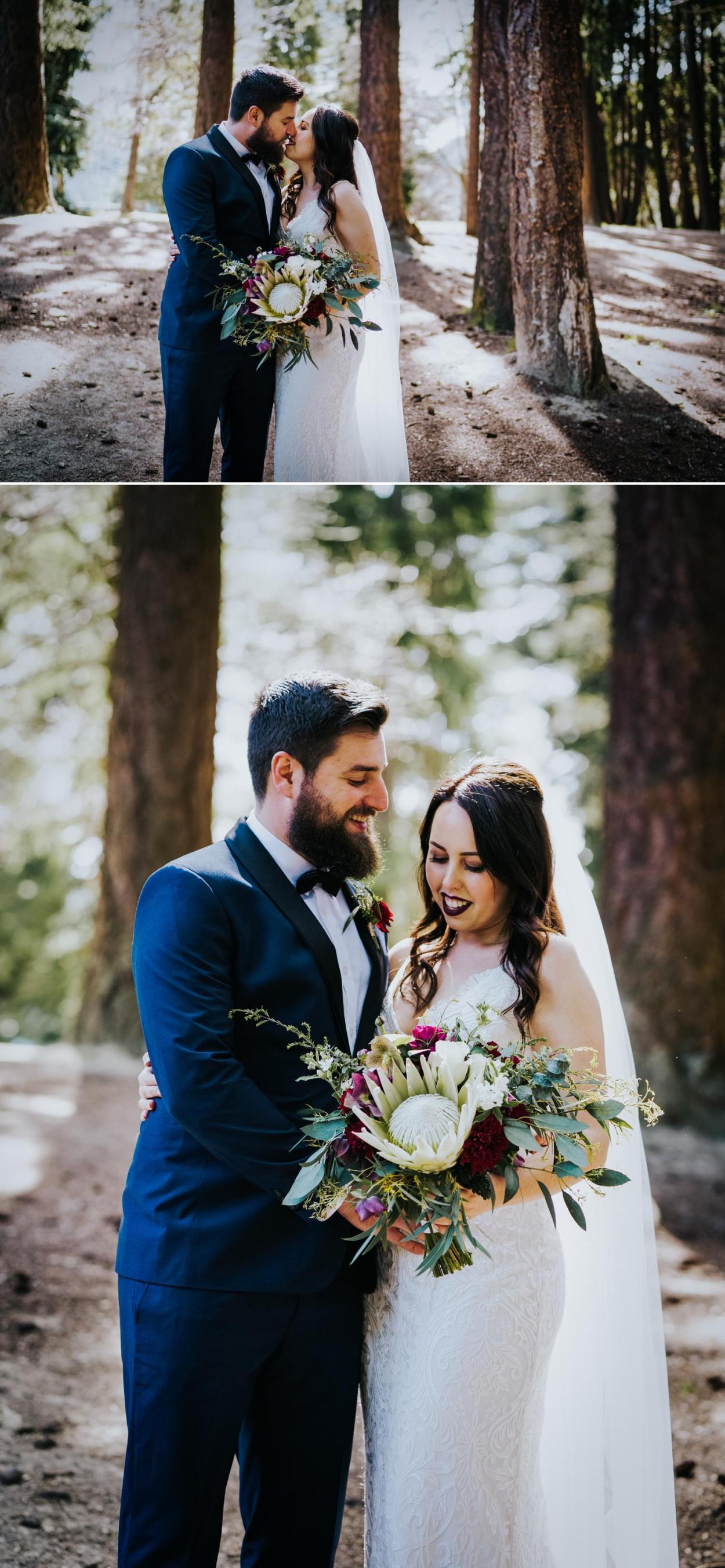 Bride and groom wedding photography new zealand