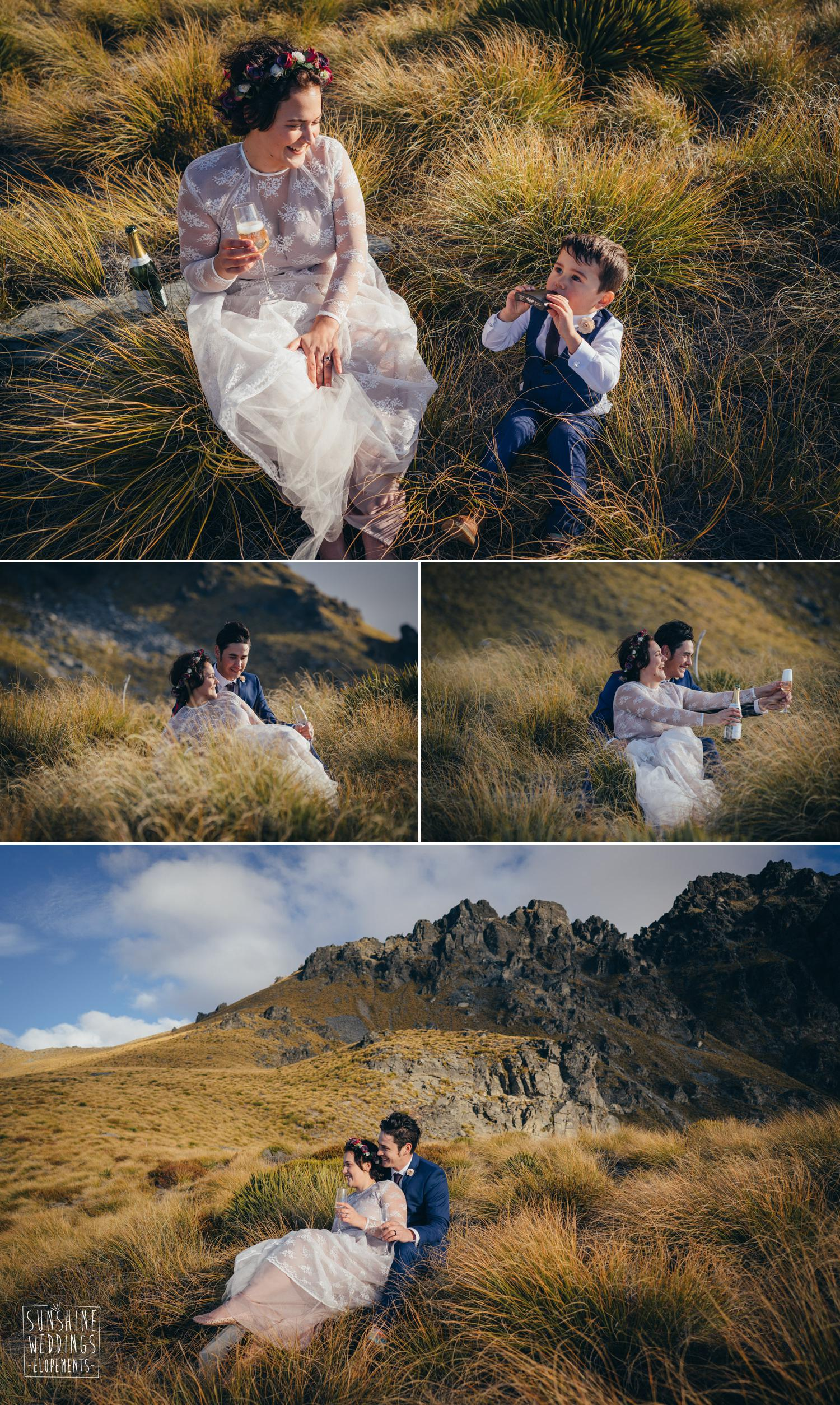 Cecil peak wedding Queenstown