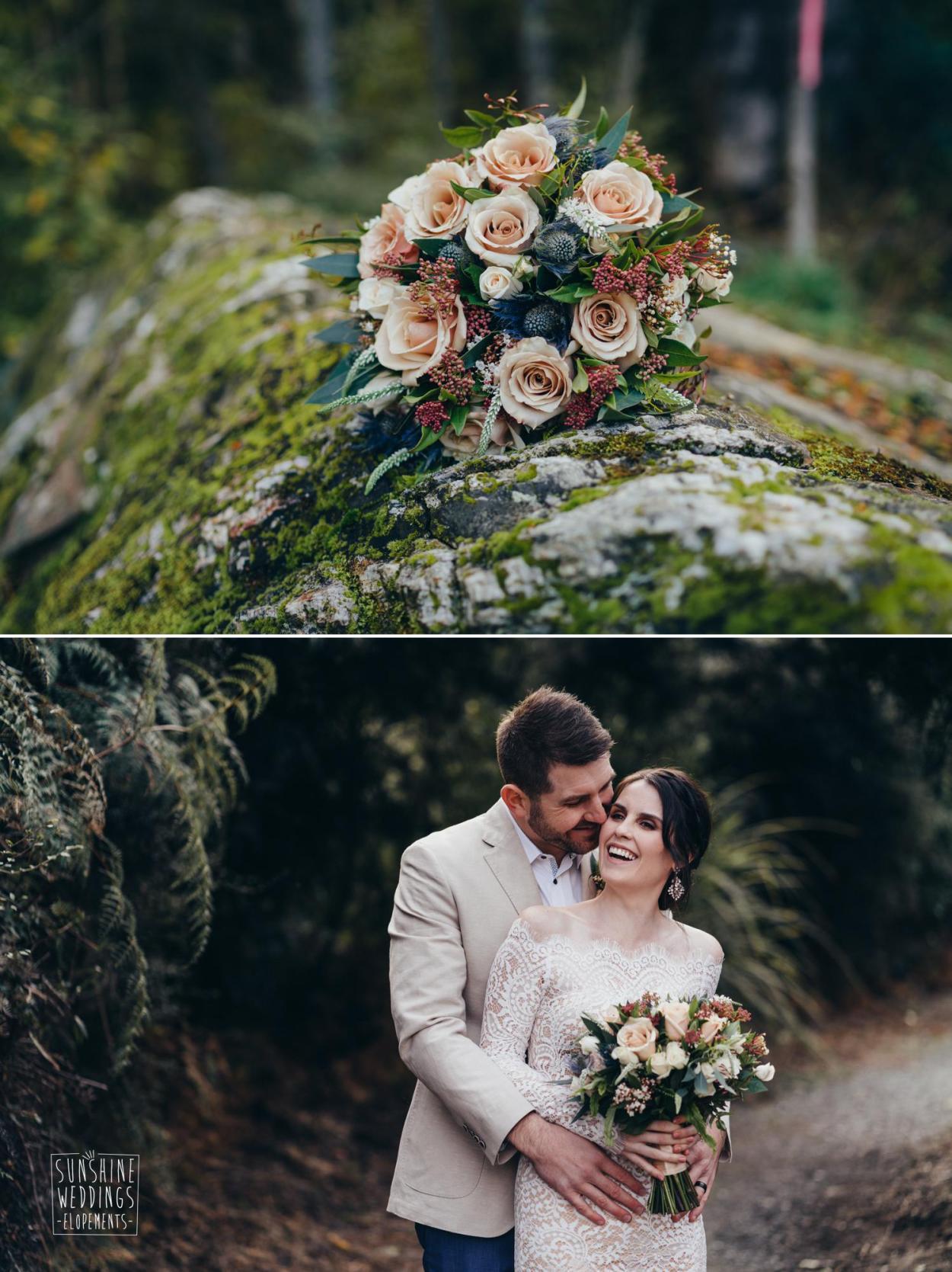 The Flower Room Queenstown wedding