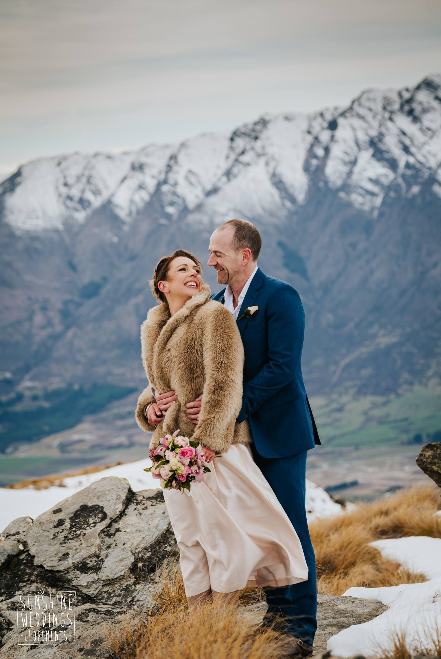The Remarkables mountain wedding