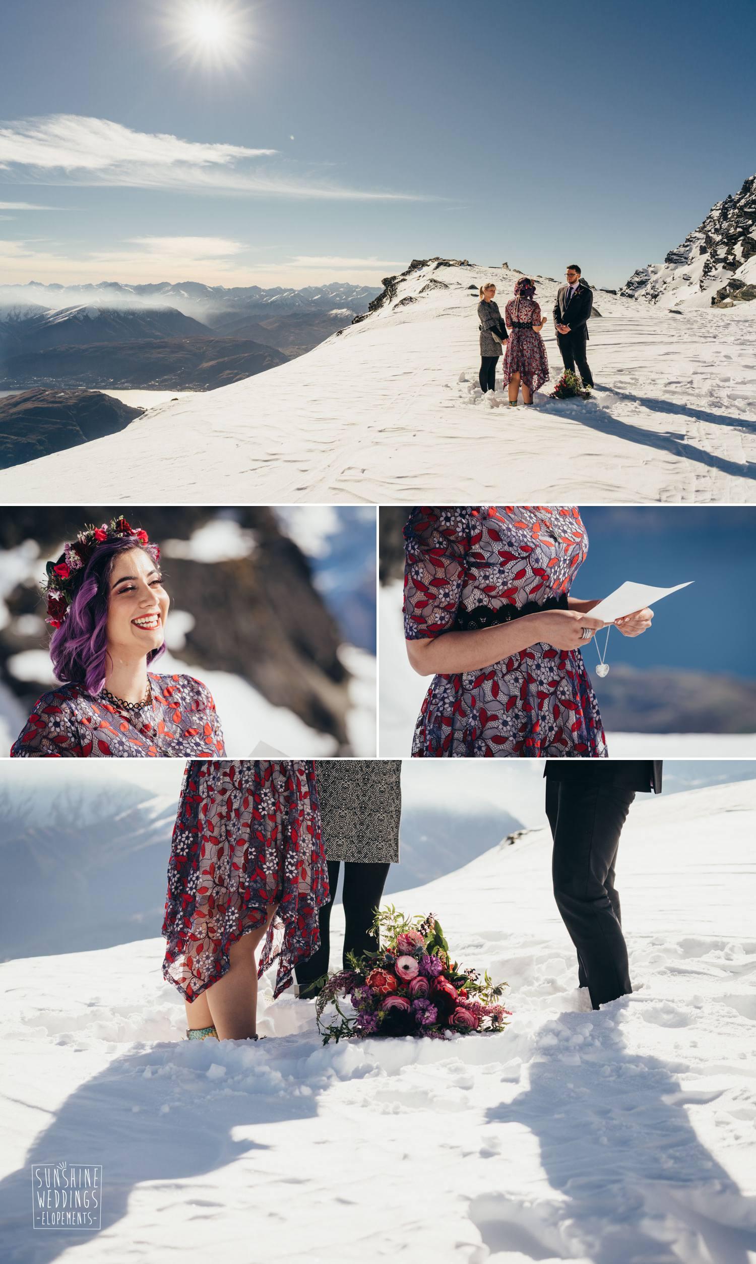 The Remarkables elopement wedding