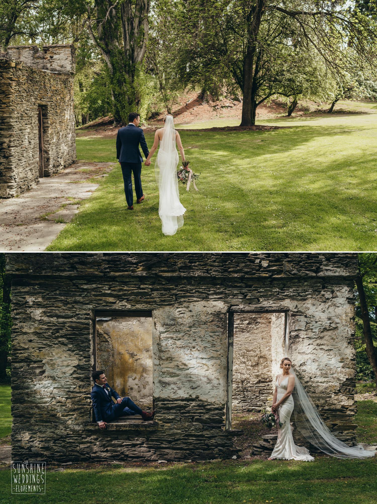 Wedding at Thurlby Domain Queenstonw wedding venue