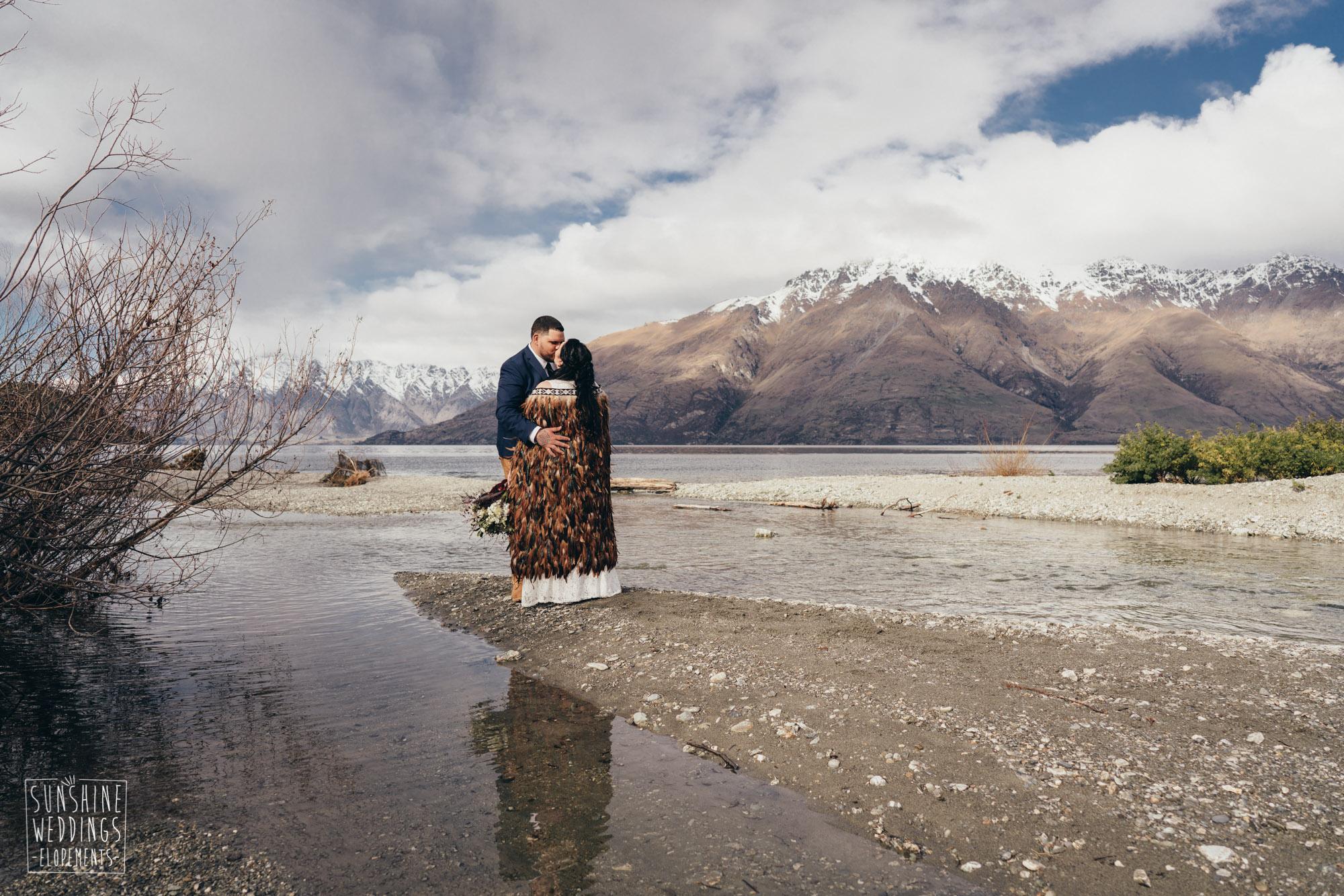 lakeside wedding ceremony Queenstown
