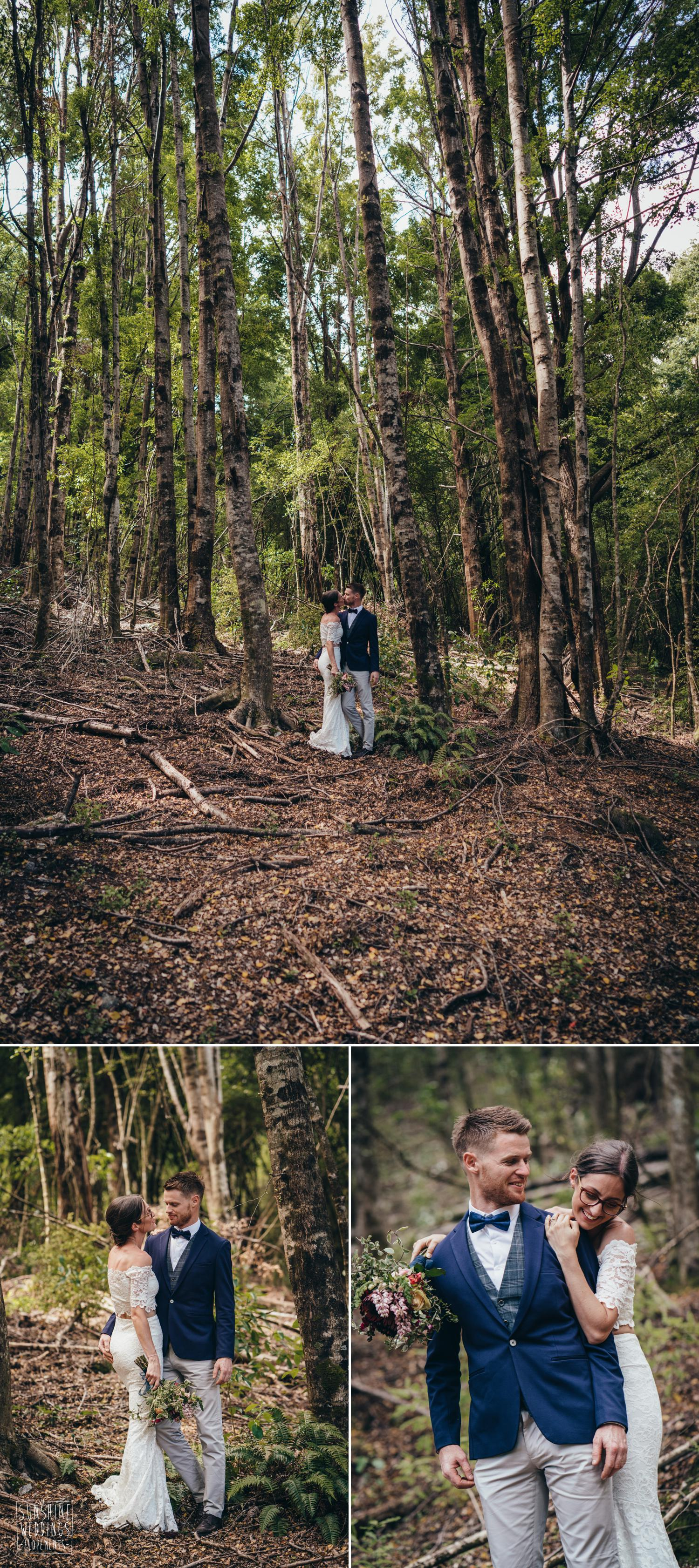 NZ elopement wedding