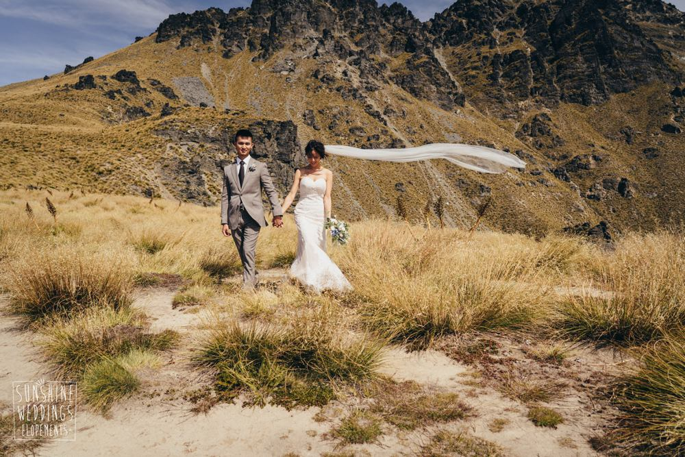 mountain elopement wedding packages for NZ weddings