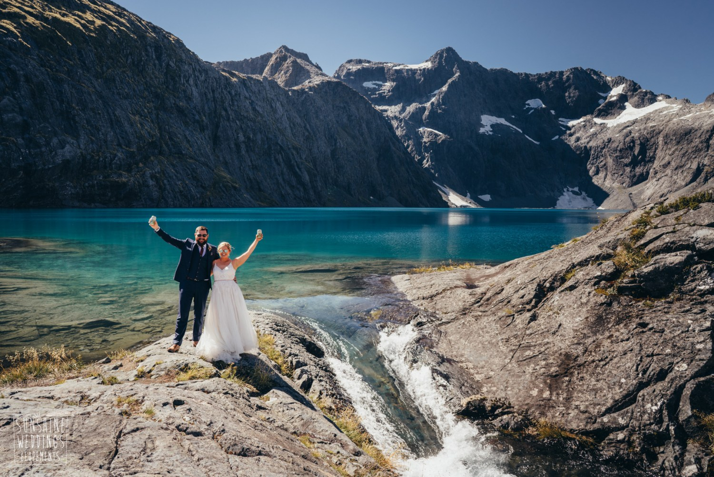 Wedding Lake Erskine Fiordland National Park