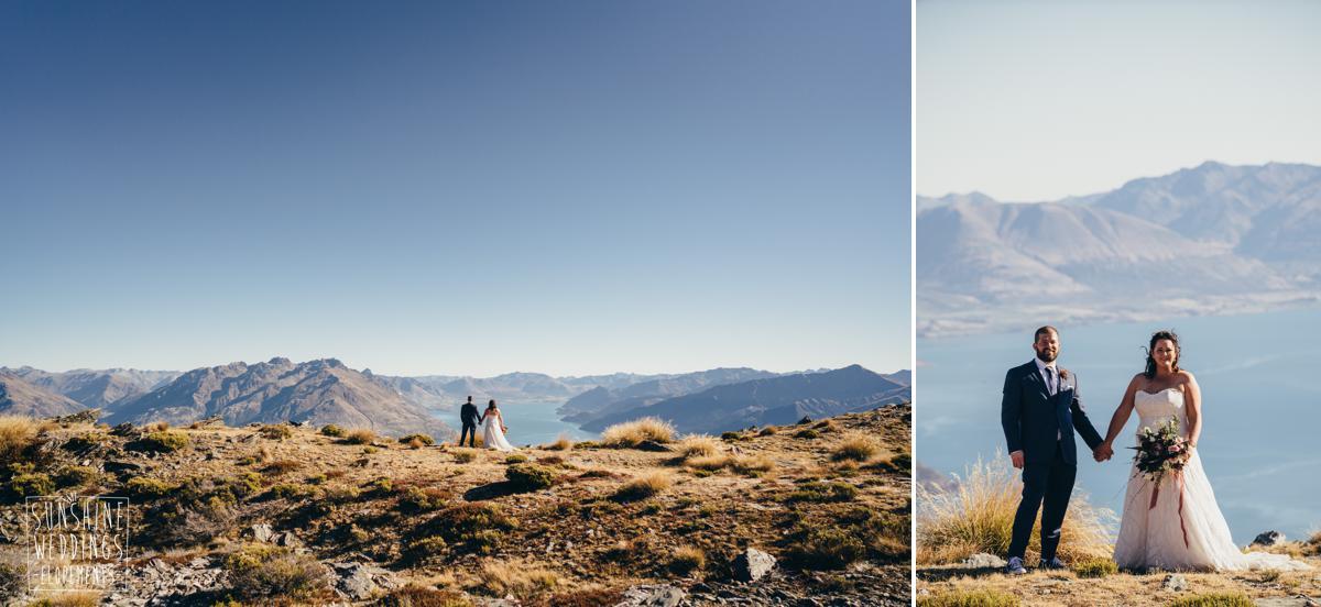 Elope to NZ mountain wedding