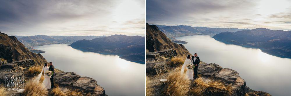 mountain new zealand elopement