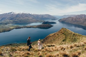coromandel peak elopement wedding