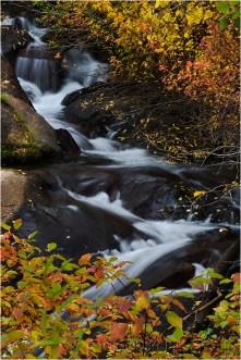 Autumn Cascade, Mill Creek, Eastern Sierra