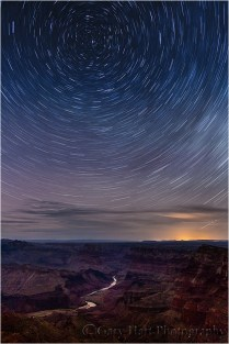 Star Trails, Desert View, Grand Canyon