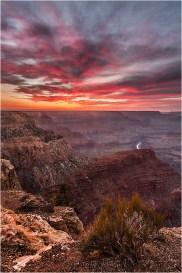 Sky on Fire, Hopi Point, Grand Canyon National Park