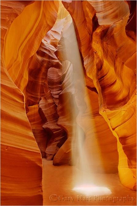 Gary Hart Photography: Heavenly Beam, Upper Antelope Canyon