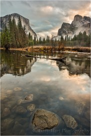 Gary Hart Photography, Rocks and Reflection, Valley View, Yosemite