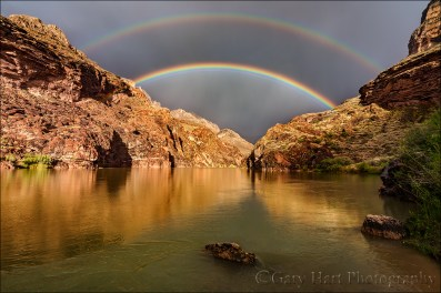Gary Hart Photography: Under the Rainbow, Colorado River, Grand Canyon