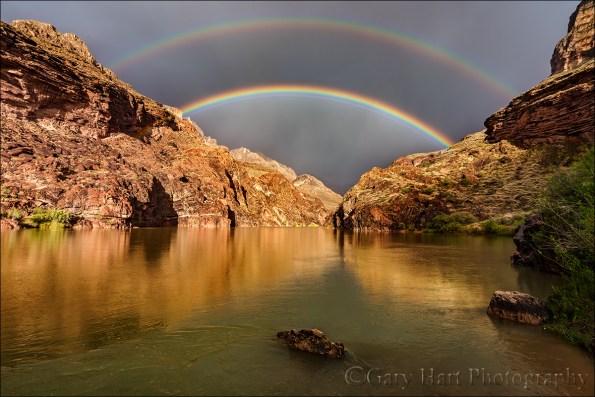 Gary Hart Photography: Under the Rainbow, Colorado River, Grand Canyon