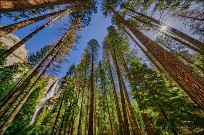 Gary Hart Photography: Yosemite Falls Sunstar, Yosemite