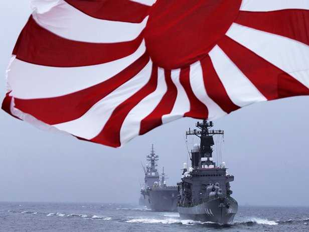 El Sol Naciente resurge en Asia: el rearme de Japón