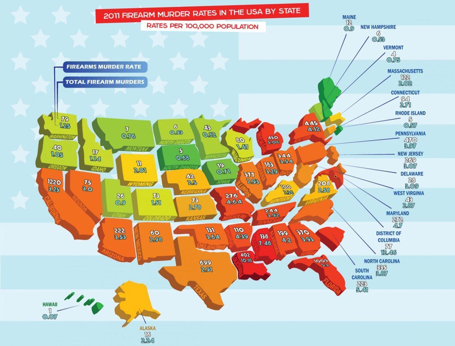 mapas para conocer estados unidos