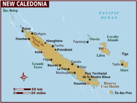 Archipiélago de Nueva Caledonia
