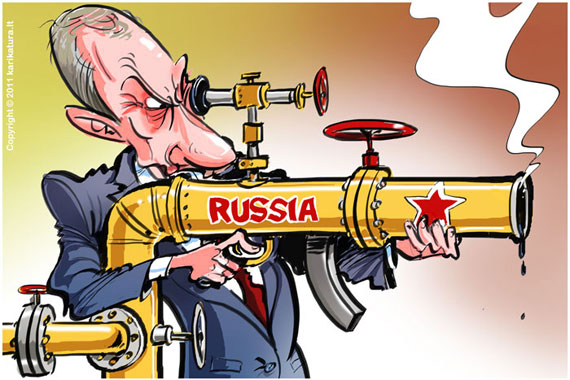 Petróleo y gas al servicio del zar