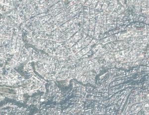 Planificación desordenada, viviendas de autoconstrucción y calles sin asfaltar son las características de los vecindarios que se levantan sobre las lomas de la montaña, como este de San Lorenzo de Totolinga, en Naucalpan, al Norte de la Ciudad de México.