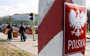 El límite intermitente: las fronteras de la Polonia actual