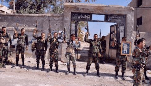 Brigada Ba'athista en Al-Hasakah. Fuente: ARA News