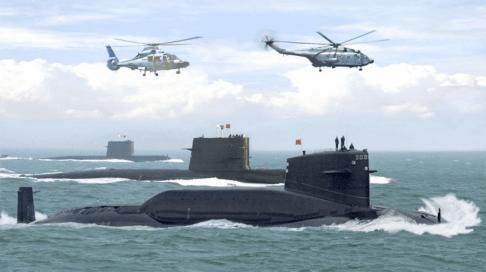 Submarinos Jin-094 chinos. Fuente: Groundreport.com http://groundreport.com/wp-content/uploads/2013/11/ubmarine-nuclear-reactorsubmarine-nuclear-reactors.jpg