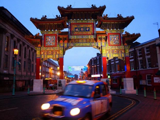 Chinatown de Liverpool, uno de los ejemplos de cómo la cultura china también moldea ciudades occidentales