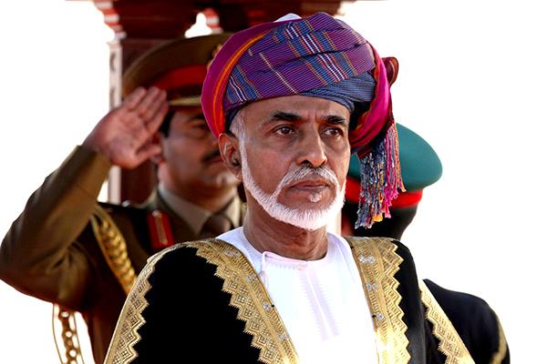 El sultán Qaboos. Fuente: Celebfamily