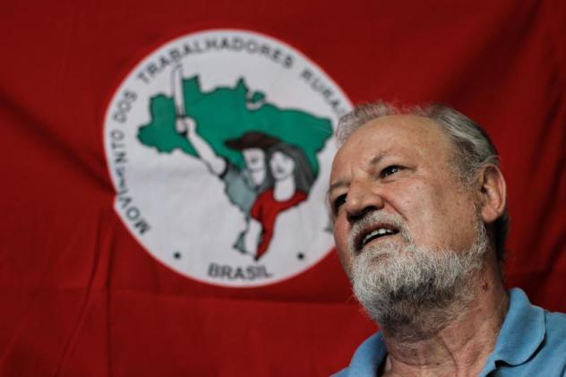 João Pedro Stédile , una de las caras más reconocibles del MST