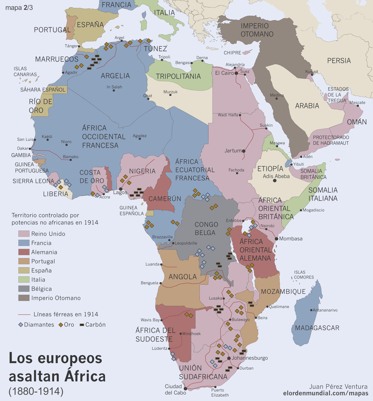 La colonizacin de frica 18152015
