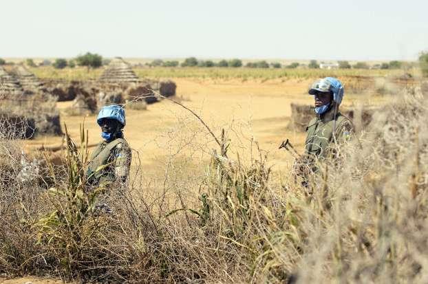 La misión combinada de las Naciones Unidas y la Unión Africana ha sido fundamental para la región de Darfur. Fotografía de UN Photo/Olivier Chassot