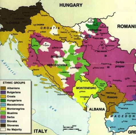 etnias Balcanes 1981