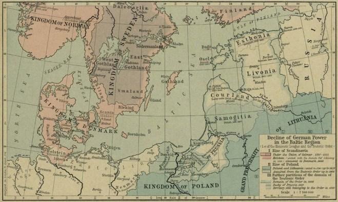 poder amean baltico
